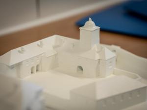 FOTO: Univerzita představila 3D model hradu Bouzov, jeho příprava trvala přes měsíc