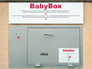 V olomouckém babyboxu byl nalezen chlapeček. Jedná se již o 201. odložené dítě