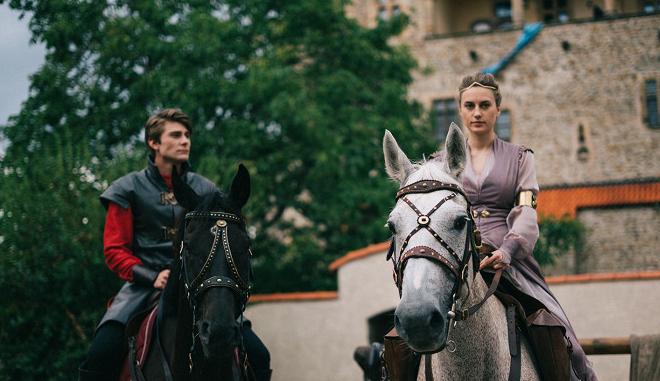 Na hradě Bouzov se natáčela nová česká pohádka Princezna zakletá v čase