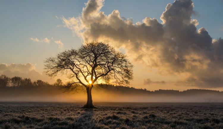 POČASÍ NA ČTVRTEK: Teploty nepřesáhnou čtyři stupně, odpoledne místy slabé sněžení