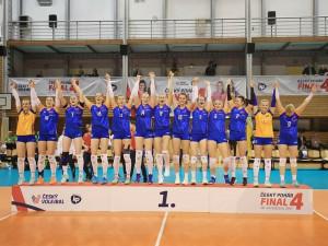 Volejbalistky z olomoucké univerzity otočily finální zápas Českého poháru