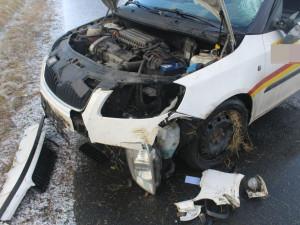 Smyk řidičce způsobil lehká zranění a škodu přes 80 tisíc