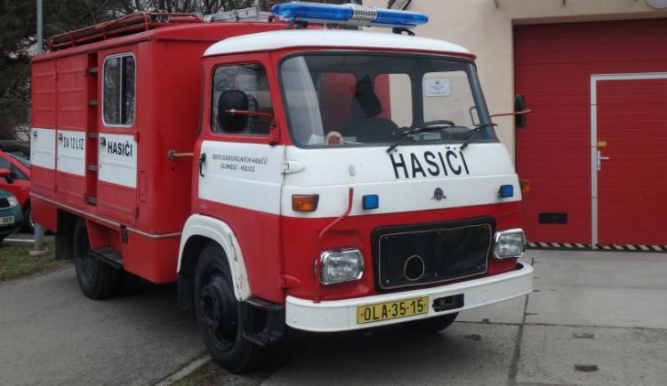 Dobrovolní hasiči z Charvát dostanou od Olomouce hasičský vůz