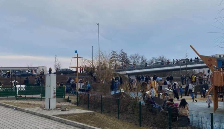 AKTUALIZOVÁNO: Šantovku znovu museli evakuovat kvůli nebezpečí požáru