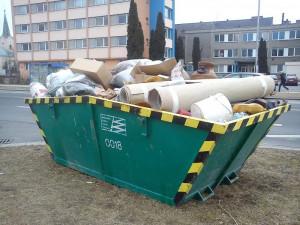 V Přerově se velkoobjemové kontejnery na odpad objeví až v květnu
