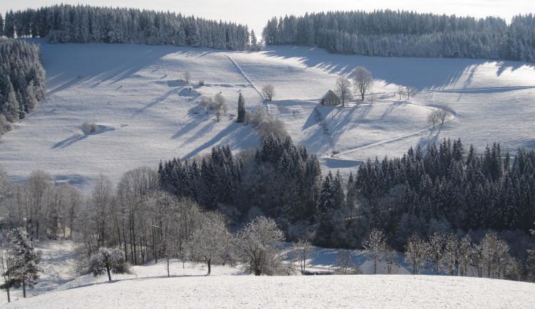 Sněhové podmínky v Jeseníkách se zlepšují, napadlo deset centimetrů
