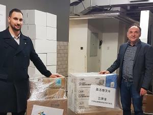Olomoucký kraj pošle ochranné pomůcky do partnerského regionu v Číně