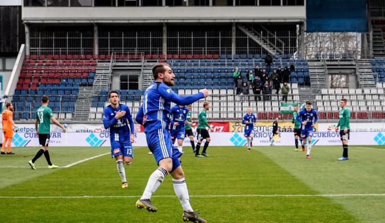 FOTOGALERIE: Olomouc remizovala s Jabloncem v divokém zápase 1:1