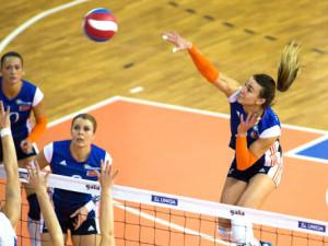 Derby volejbalistek Šternberka a Olomouce bylo drama až do konce. Favorit nakonec zvítězil až v pátém setu