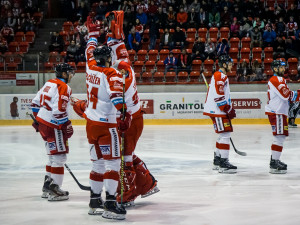 FOTOGALERIE: Hokejisté Olomouce v úvodním zápase předkola nadělili ševcům bůra! Takto vypadal zápas