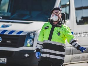 Počet nakažených policistů se v Olomouckém kraji zvýšil na osm, v Sokolské omezili provoz služebny