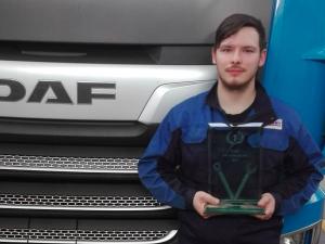 V olomoucké firmě Truck Trade mají nejlepšího mechanika tahačů DAF v Česku