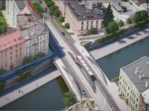 Most na Masarykově třídě je asi na týden uzavřený. Dnes začíná demoliční fáze