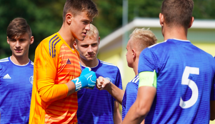 Šestnáctiletý brankářský talent Radek Vítek přestupuje z olomoucké Sigmy do Manchesteru United