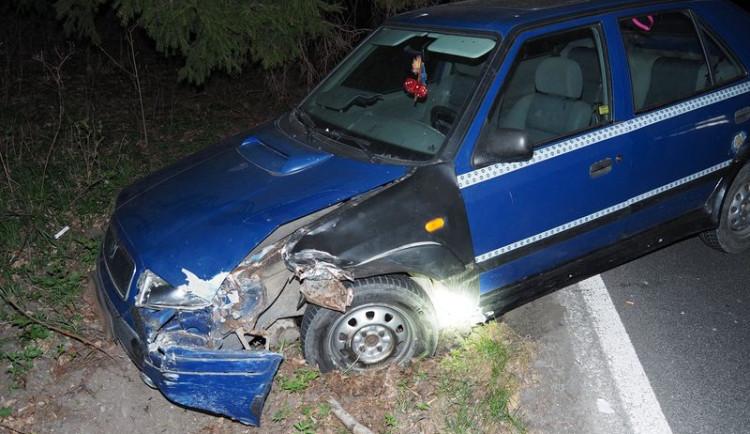 Řidič, který způsobil dopravní nehodu, neměl řidičský průkaz a byl pod vlivem alkoholu