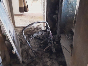 V Přerově hořel kočárek. Zplodin se nadýchali čtyři lidé