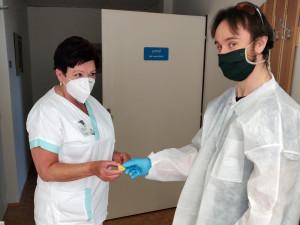 V prostějovské nemocnici mají unikátní technologii k měření tělesné teploty pomocí senzorů