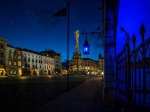 Náměstí se večer zahalí do modré barvy. Připomene Světový den plicní hypertenze