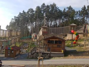 V olomoucké zoo obnovili lanové centrum Lanáček