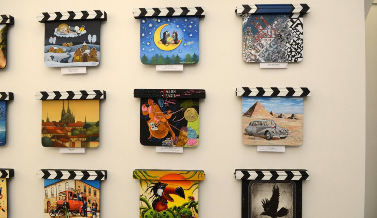 Ve Zlíně odstartovala výstava filmových klapek, na konci července zavítá do Olomouce