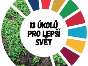 """Projekt Get up and Goals! vyhlásil tento měsíc výzvu """"13 úkolu pro lepší svět"""". Splňte nějaký a pochlubte se!"""