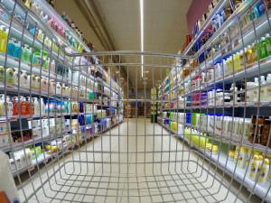 Za nouzového stavu ubylo 50 procent krádeží v obchodech s potravinami