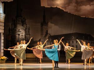 Balet Moravského chystá zkoušku na Horním náměstí
