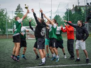 FOTO: Šampiony olomouckého poháru v malém fotbale se stali Skunkové