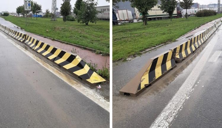 V pondělí se budou na Týnecké opravovat betonová svodidla, uzavřen bude jeden jízdní pruh