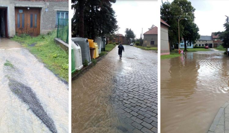 AKTUÁLNĚ: Hasiči v kraji vyjíždějí kvůli bouřkám, odčerpávají laguny a sklepy