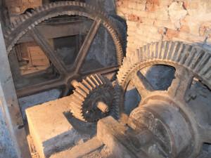 Historický pohon bývalého mlýna v Rapotíně se stal památkou