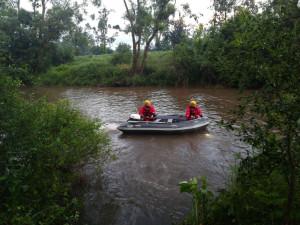 Toky v Olomouckém kraji klesly, pátrání po vodákovi pokračuje