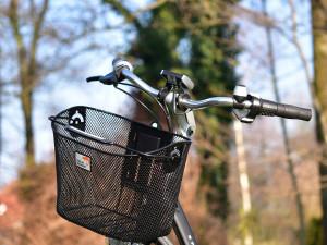 Muž ukradl za jízdy seniorce kabelku z košíku na řídítkách. Před pohotovým svědkem ale neujel