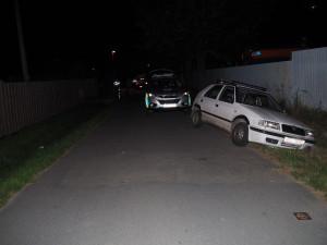 Opilý muž bez řidičáku po bouračce pokračoval v cestě. Nakonec skončil v příkopě