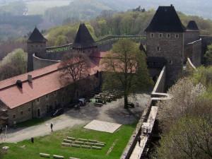 Palác hradu Helfštýna se po rozsáhlé opravě otevře na konci srpna