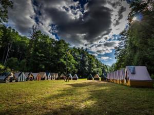 Hygienici kontrolovali v Olomouckém kraji pět desítek táborů. Provozovatelé jsou zatím vzorní