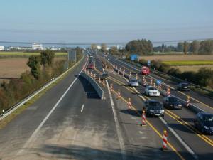Dálnice D46 se v Prostějově rozšíří o nové pruhy. Stavba bude stát téměř 200 milionů