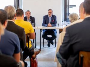 Neslyšel jsem žádný platný argument, proč by měl koridor Dunaj-Odra-Labe smysl, říká předseda ODS Petr Fiala
