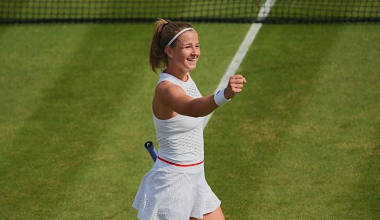 Skvěle! Muchová je poprvé v osmifinále US Open. Na zápas bych radši zapomněla, řekla