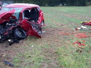 Při pondělní nehodě u Štěpánova se zranilo sedm lidí, jeden těžce