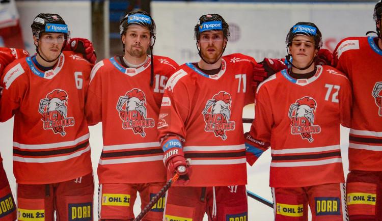 U A-týmu klubu HC Olomouc se potvrdil koronavirus u osmnácti členů