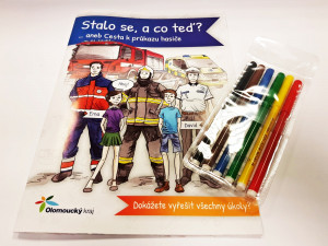 Jak by se měly děti chovat při požáru? Vyšla publikace, kterou můžete stáhnout