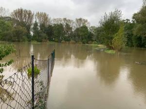 Morava stoupá už jen mírně. V Olomouckém kraji stále platí dva druhé povodňové stupně