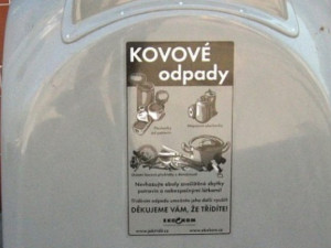 Olomoučané dobře třídí, ve městě jim přibudou tři desítky nových kontejnerů na kovy