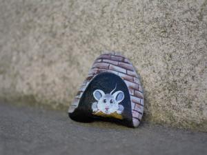 Lidé se baví barevnými kamínky ve veřejném prostoru. Najít je můžete i v Olomouci