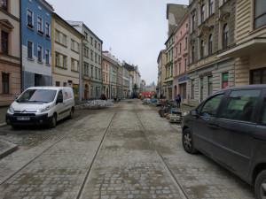 FOTO: Rekonstrukce ulice 8. května se chýlí ke konci. Tramvaje po ní začnou jezdit během pár týdnů