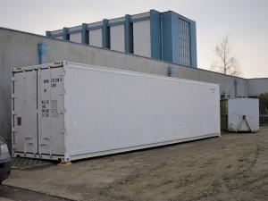 V Olomouci stojí chladící kontejner u krematoria, které je vytížené