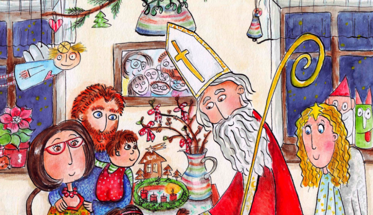 Koupí dobročinného adventního kalendáře podpoříte děti s postižením