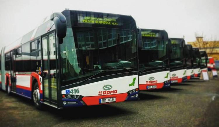 DPMO v pondělí obnoví v Olomouci provoz posilových autobusů