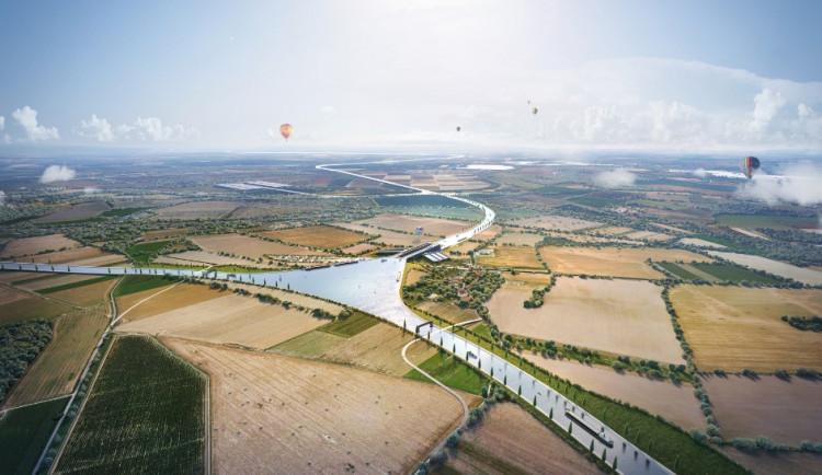 Rada Olomouckého kraje nesouhlasí se stavbou kanálu Dunaj-Odra-Labe